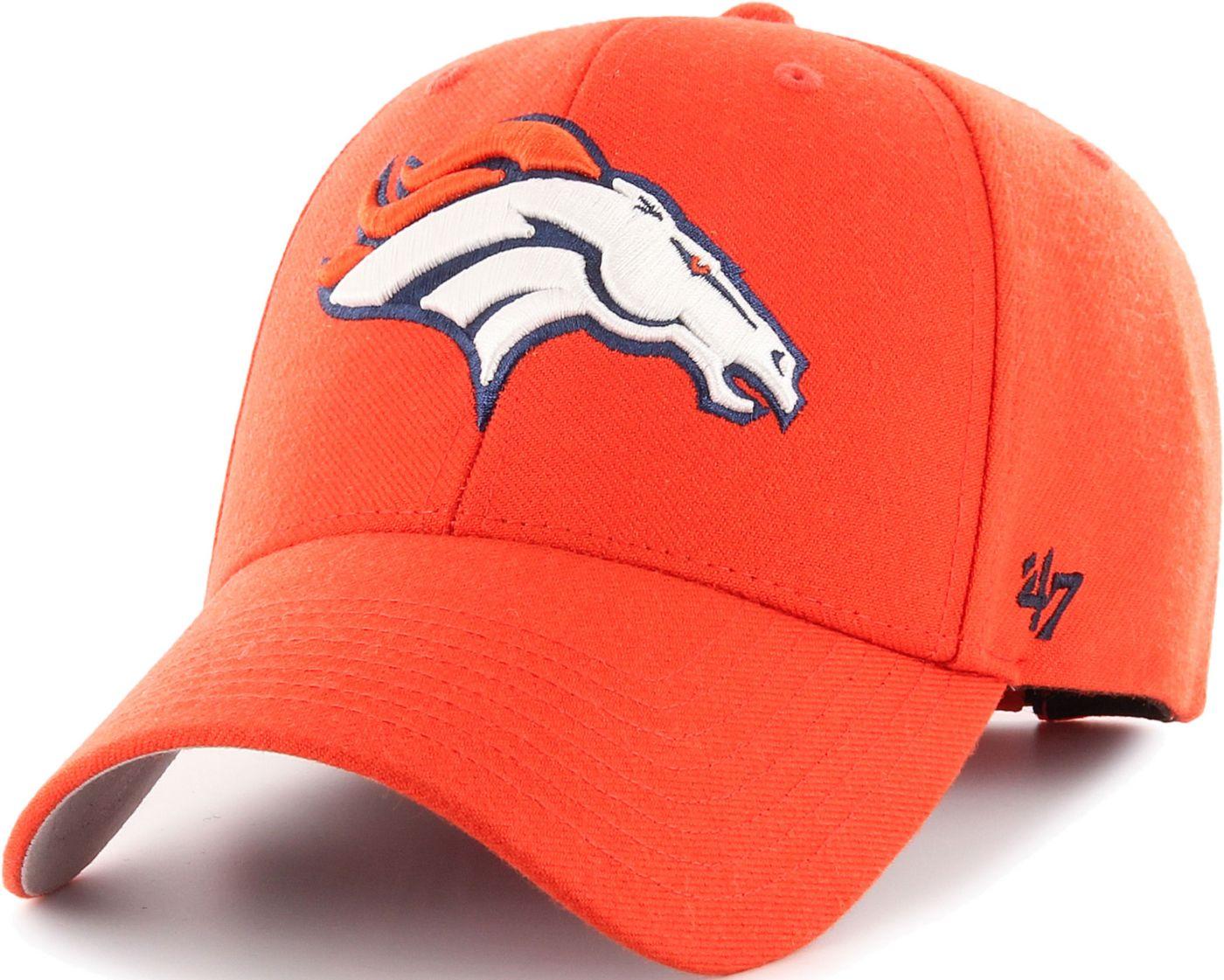 '47 Men's Denver Broncos MVP Orange Adjustable Hat