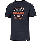 '47 Men's Chicago Bears Club Football Navy T-Shirt