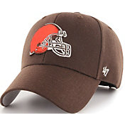 '47 Men's Cleveland Browns MVP Brown Adjustable Hat