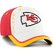 '47 Men's Kansas City Chiefs Crash Line Red Flex Fit Hat