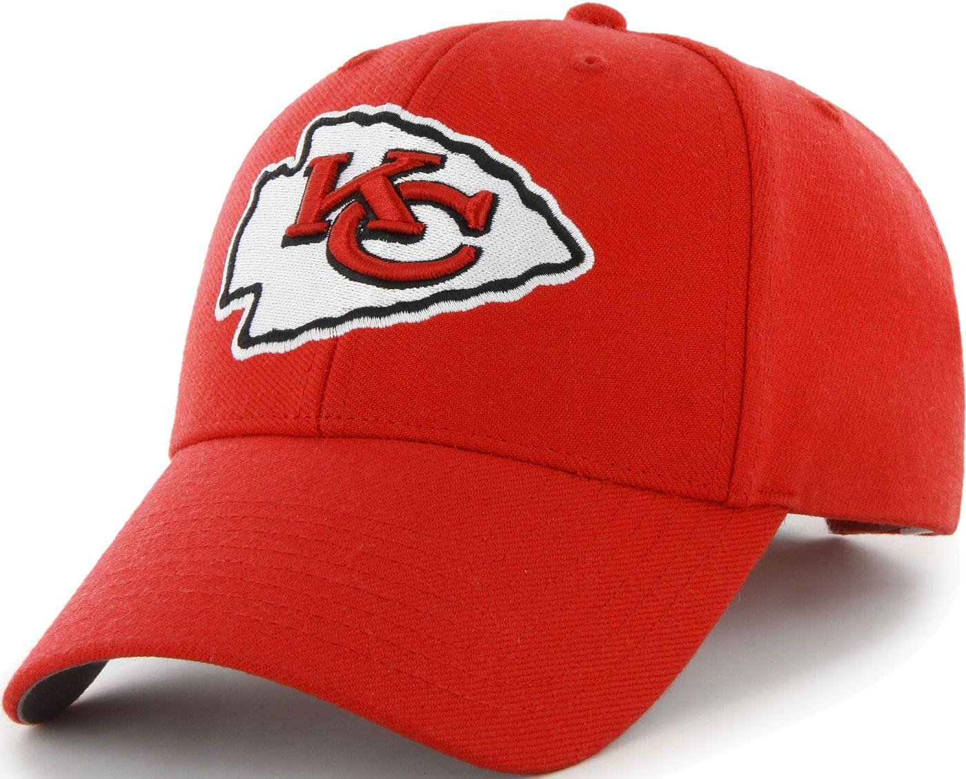 '47 Men's Kansas City Chiefs MVP Red Adjustable Hat