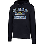 '47 Men's Los Angeles Chargers Headline Navy Pullover Hoodie