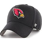 '47 Men's Arizona Cardinals MVP Black Adjustable Hat