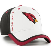 '47 Men's Arizona Cardinals Crash Line Black Flex Fit Hat