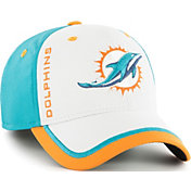 '47 Men's Miami Dolphins Crash Line Aqua Flex Fit Hat