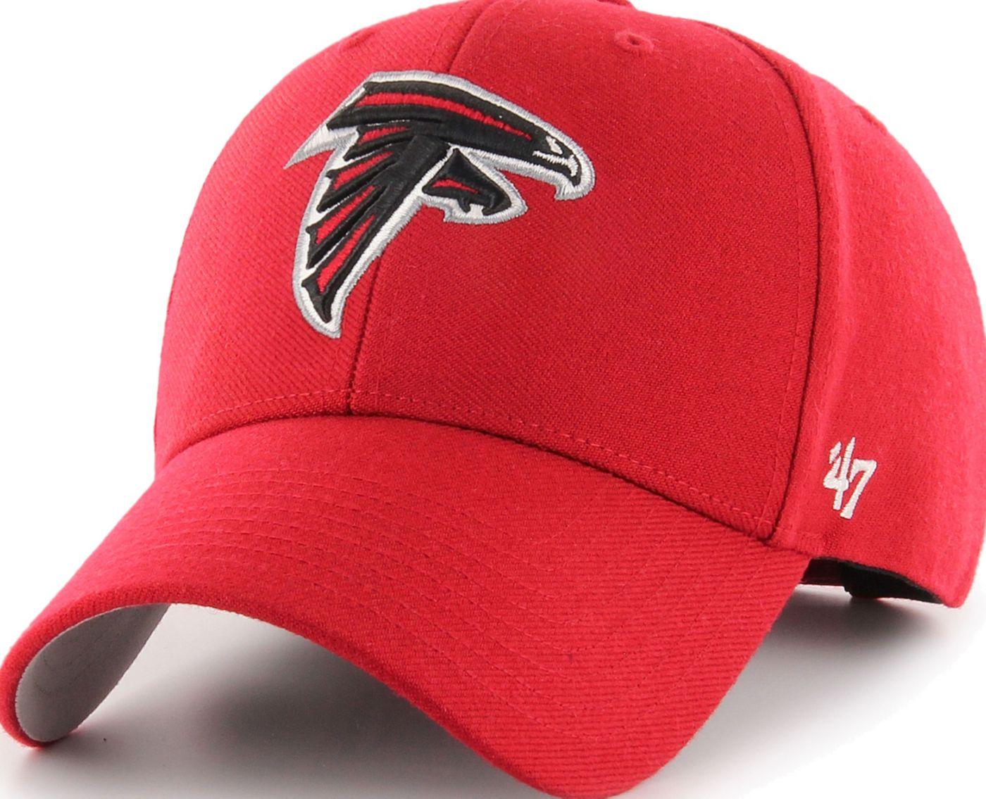 '47 Men's Atlanta Falcons MVP Red Adjustable Hat