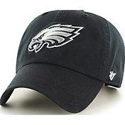 52f61a7e3e2f4 Product Image ·  47 Men s Philadelphia Eagles Clean Up Black Adjustable Hat  ·