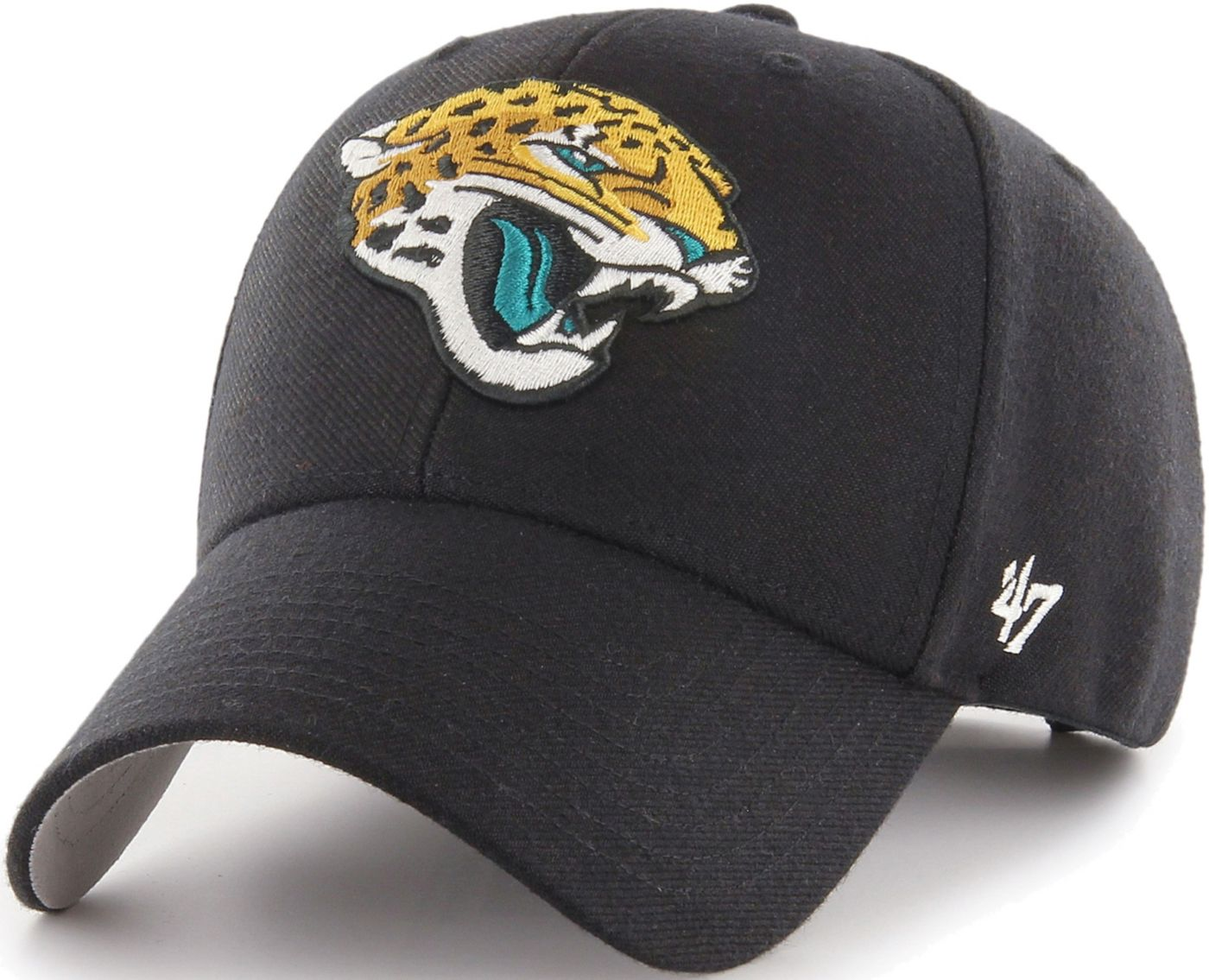 '47 Men's Jacksonville Jaguars MVP Black Adjustable Hat