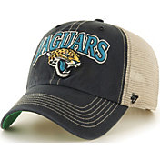 '47 Men's Jacksonville Jaguars Tuscaloosa Clean Up Black Adjustable Hat