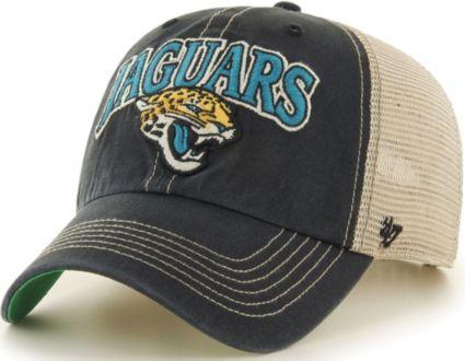 '47 Men's Jacksonville Jaguars Tuscaloosa Clean Up Black Adjustable Hat