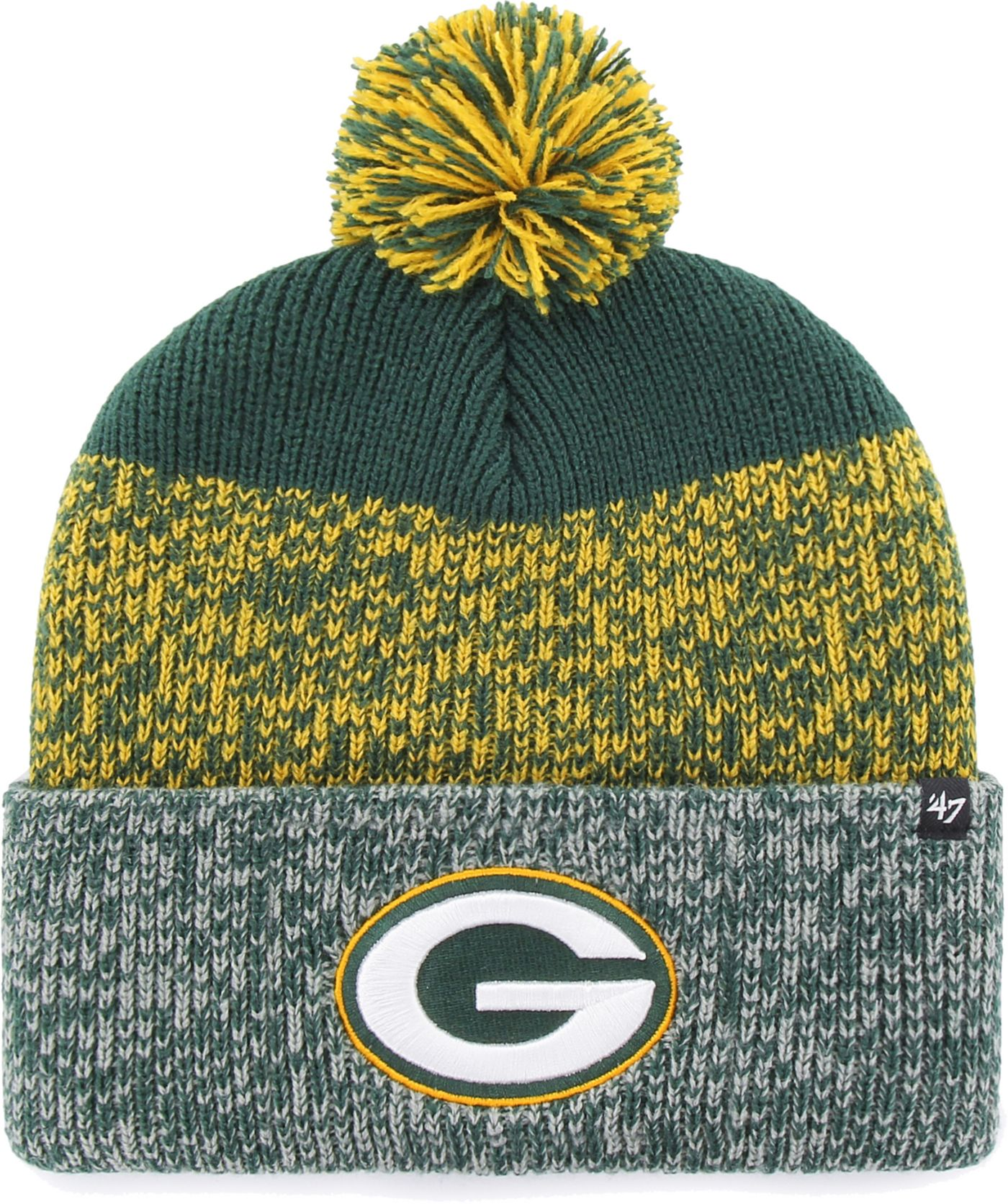 '47 Men's Green Bay Packers Static Cuffed Knit