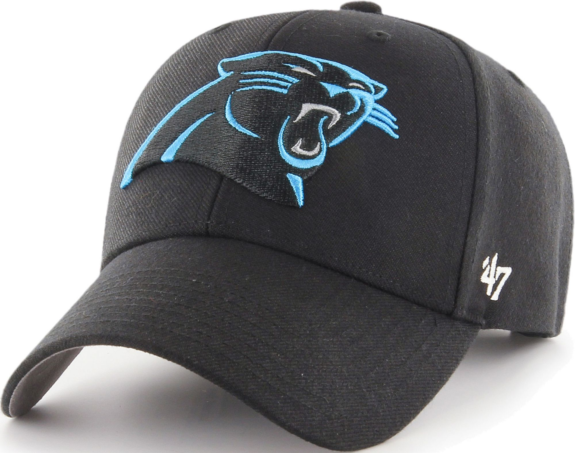 buy online 0528b e097d ... switzerland 47 mens carolina panthers mvp black adjustable hat e6a74  76f5f