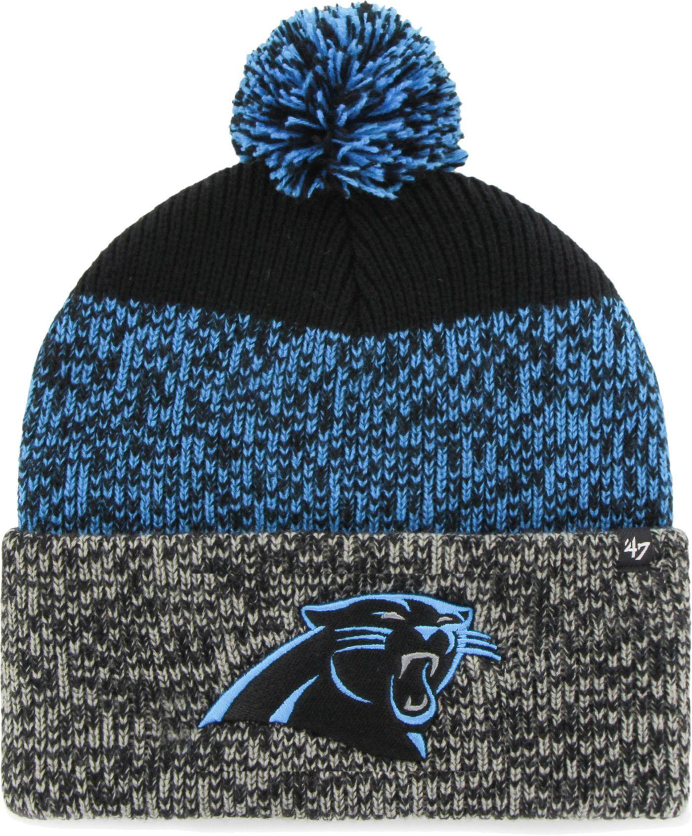 '47 Men's Carolina Panthers Static Cuffed Knit