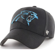 '47 Men's Carolina Panthers MVP Black Adjustable Hat