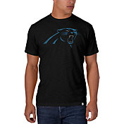 '47 Men's Carolina Panthers Scrum Logo Black T-Shirt
