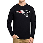 '47 Men's New England Patriots Club Navy Long Sleeve Shirt