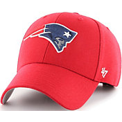 '47 Men's New England Patriots MVP Red Adjustable Hat