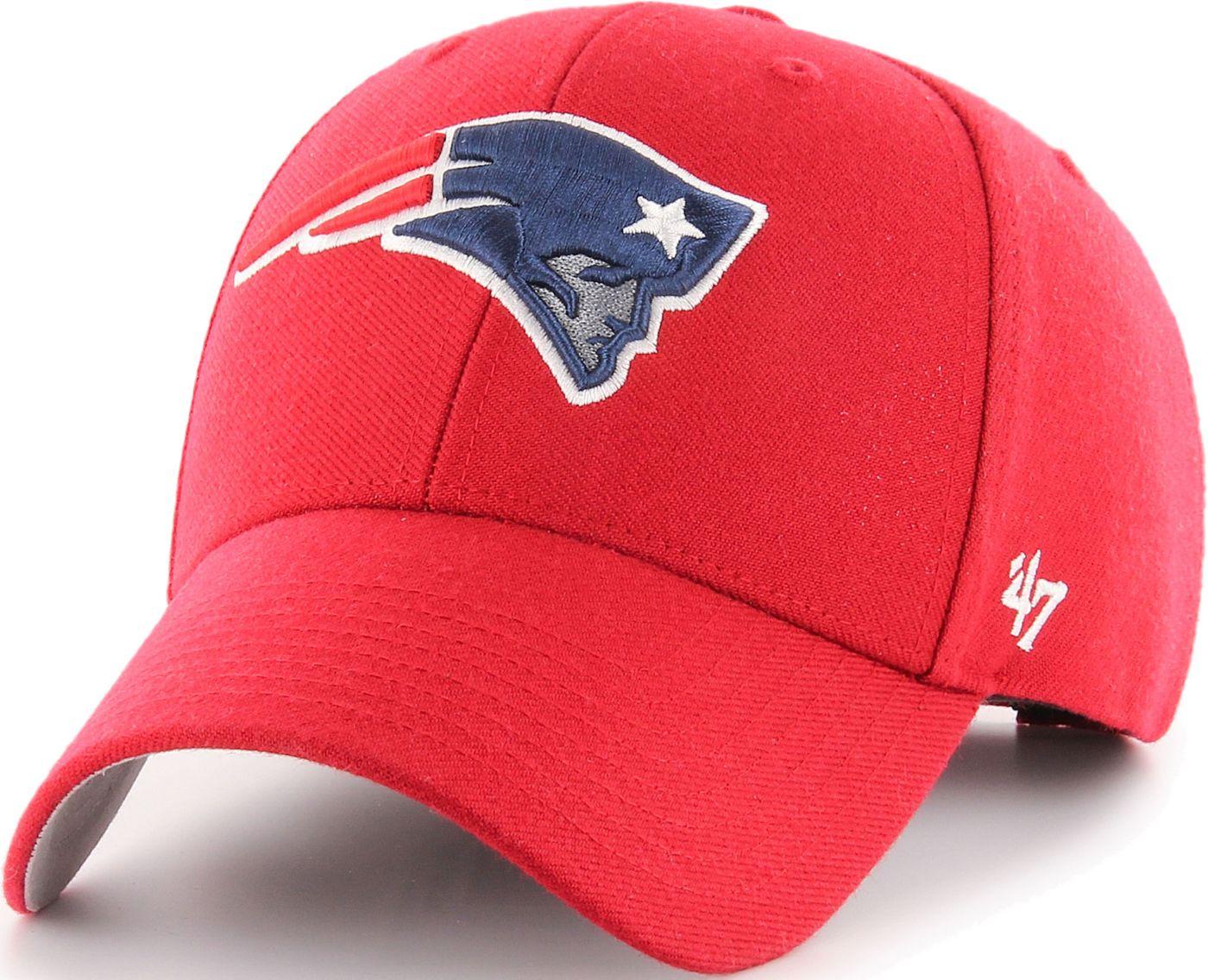 '47 Men's New England Patriots MVP Red Adjustable Hat