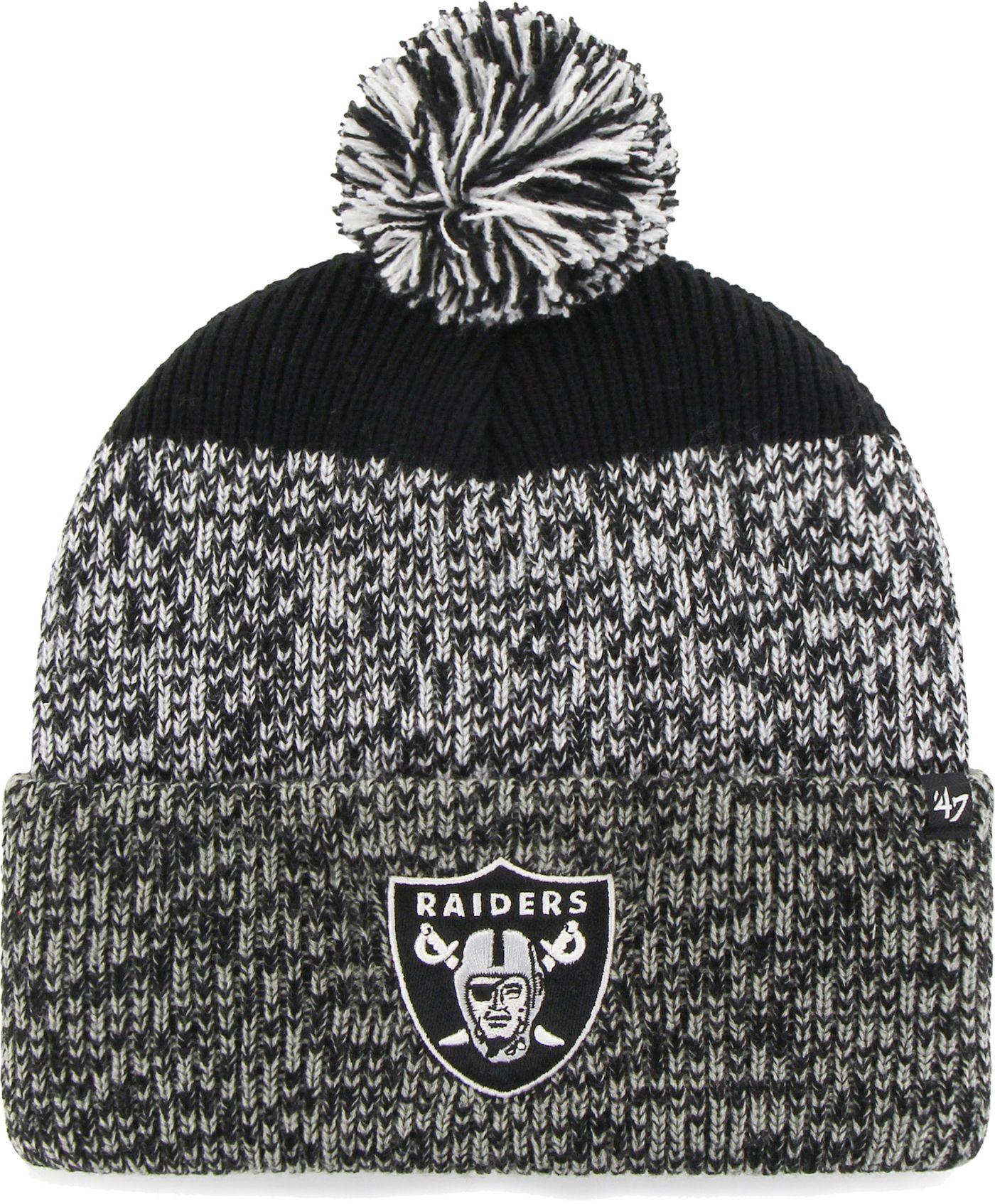 '47 Men's Oakland Raiders Static Cuffed Knit