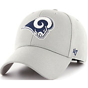 '47 Men's Los Angeles Rams MVP Grey Adjustable Hat