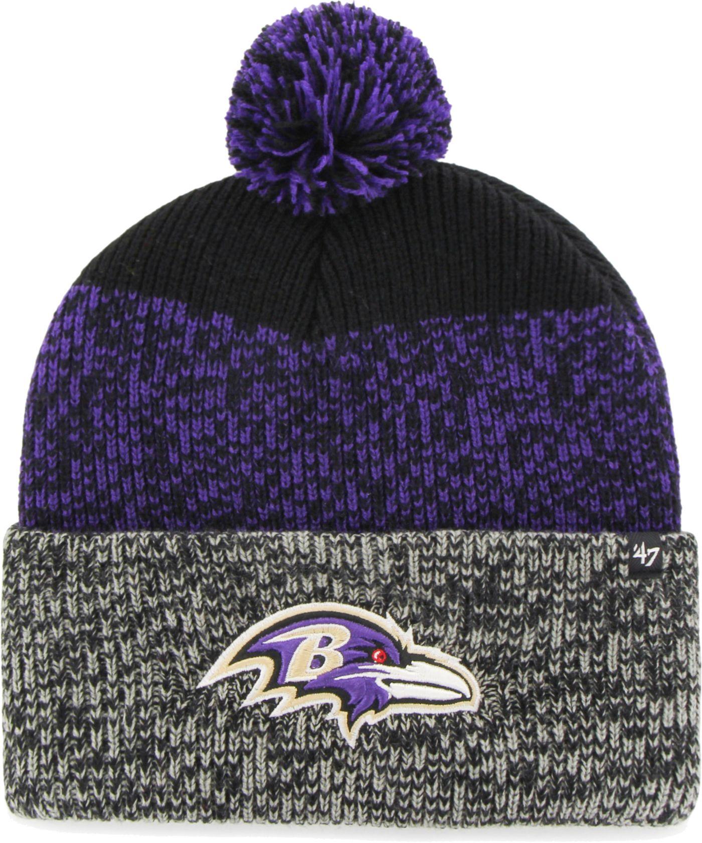 '47 Men's Baltimore Ravens Static Cuffed Knit