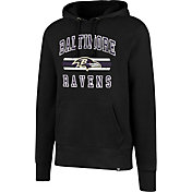 '47 Men's Baltimore Ravens Headline Black Pullover Hoodie