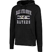 '47 Men's Baltimore Ravens Headline Black Pullover Hoodie