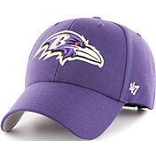 '47 Men's Baltimore Ravens MVP Purple Adjustable Hat