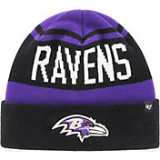 '47 Men's Baltimore Ravens Rift Cuffed Purple Knit