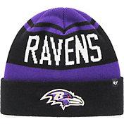 '47 Men's Baltimore Ravens Rift Cuffed Purple Knit