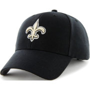'47 Men's New Orleans Saints MVP Black Adjustable Hat