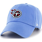 '47 Men's Tennessee Titans Clean Up Blue Adjustable Hat
