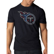 '47 Men's Tennessee Titans Scrum Logo Navy T-Shirt