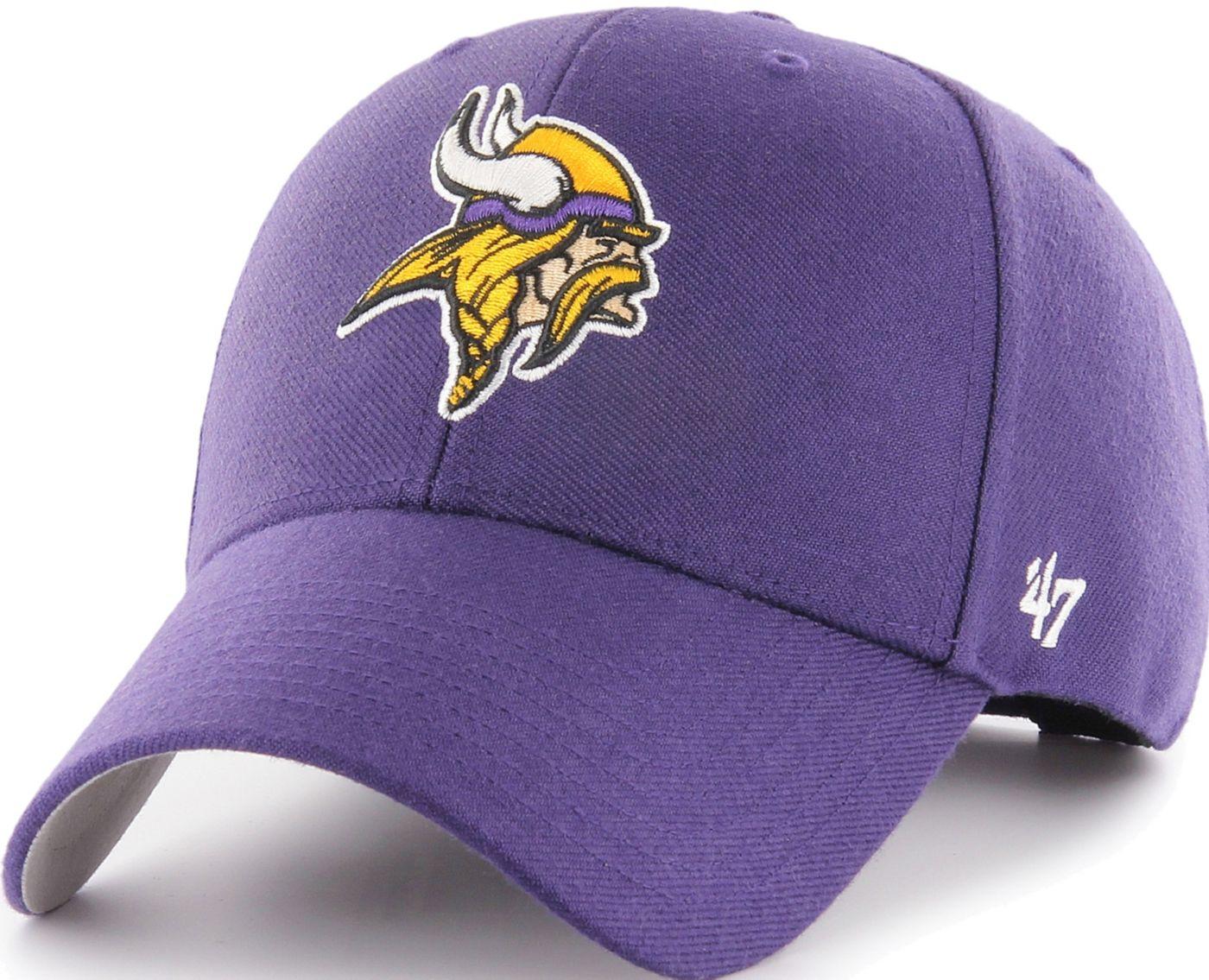 '47 Men's Minnesota Vikings MVP Purple Adjustable Hat
