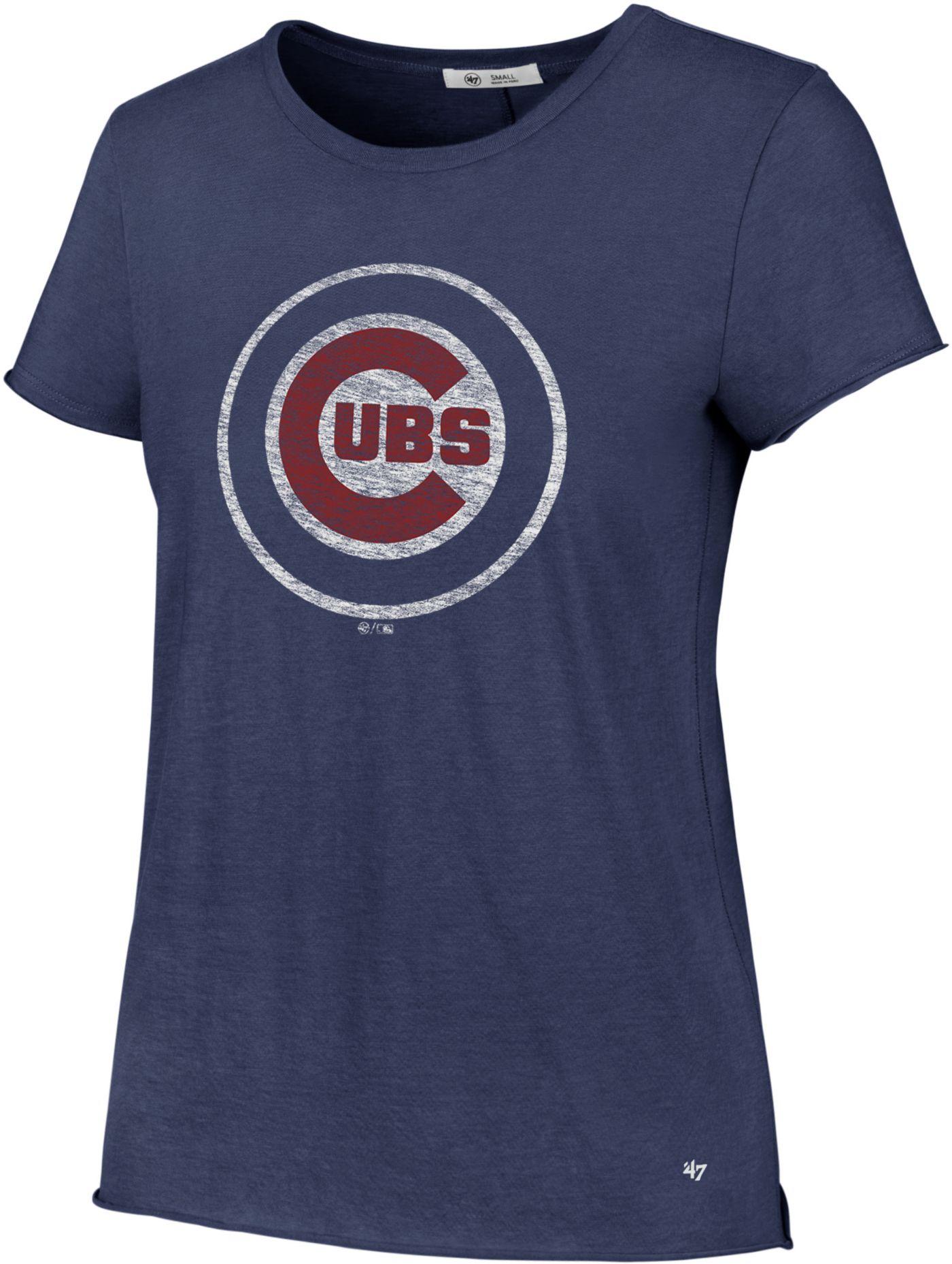 '47 Women's Chicago Cubs Crew T-Shirt