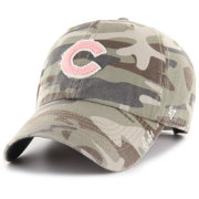 '47 Women's Chicago Cubs Tarpoon Miata Camo Clean Up Adjustable Hat