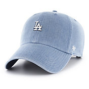 '47 Women's Los Angeles Dodgers Burkhart Denim Clean Up Adjustable Hat