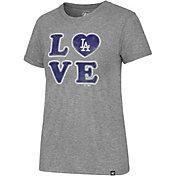 '47 Women's Los Angeles Dodgers LOVE Tri-Blend T-Shirt