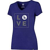 '47 Women's Los Angeles Dodgers Splitter Royal T-Shirt