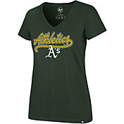 '47 Women's Oakland Athletics Ultra Rival V-Neck T-Shirt