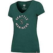 '47 Women's Seattle Mariners Ultra Rival V-Neck T-Shirt