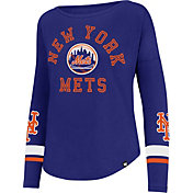 '47 Women's New York Mets Royal Long Sleeve Crew
