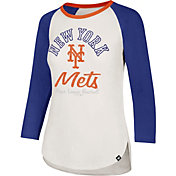 '47 Women's New York Mets Splitter Raglan Three-Quarter Sleeve Shirt