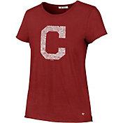 '47 Women's Cleveland Indians Crew T-Shirt