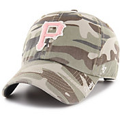 '47 Women's Pittsburgh Pirates Tarpoon Miata Camo Clean Up Adjustable Hat