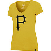 '47 Women's Pittsburgh Pirates Ultra Rival V-Neck T-Shirt