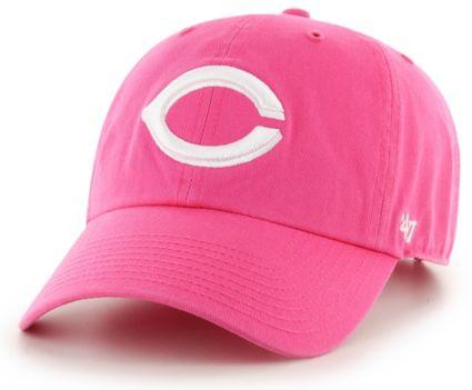 the latest e55ce f7ceb ... aliexpress 47 womens cincinnati reds clean up pink adjustable hat 15869  96a54