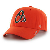 '47 Women's Baltimore Orioles Sparkle Clean Up Orange Adjustable Hat