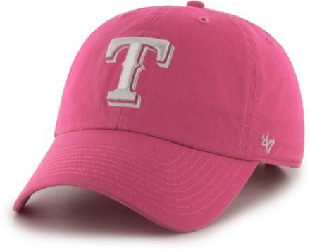 47 Women  39 s Texas Rangers Clean Up Pink Adjustable Hat.   1154b6999ce7