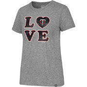 '47 Women's Minnesota Twins LOVE Tri-Blend T-Shirt
